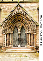 Medieval Cathedral doors