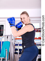 .female boxer