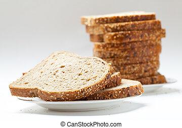 tasty sliced raisin bread - fresh tasty sliced raisin bread....