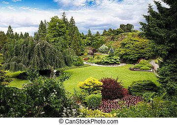 Queen Elizabeth Park in Vancouver, Canada - Queen Elizabeth...