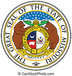 Missouri State Seal - The great seal of the state of...
