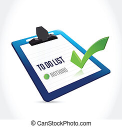 to do list clipboard illustration