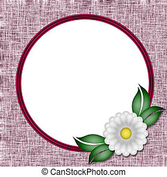 Frame a photo of the flower. Scrapbook. To decorate the...