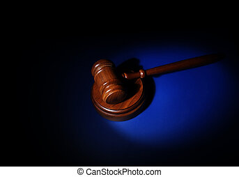 Gavel blue