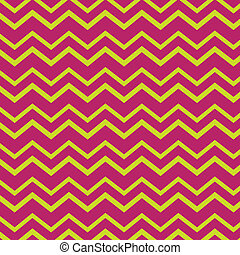 Chevron pattern in bright colors - Bright pink and yellow...