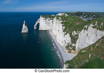Cliffs Of Etretat - Cliffs of Etretat (France - Normandy)...