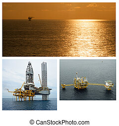 Oil And Gas Industry collage