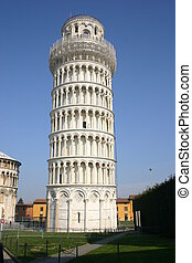 pendent pisa tower - the pendent and famous pisa tower