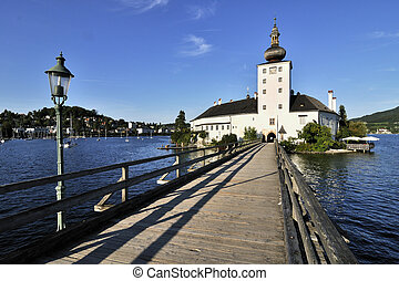 Schloss Orth - Castle Schloss Orth,Traunsee lake - Austria