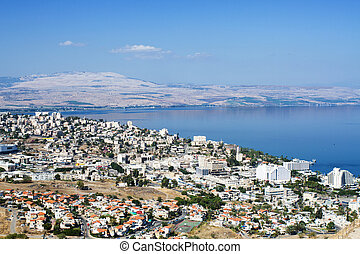 Tiberias is a city on the western shore of the Sea of...