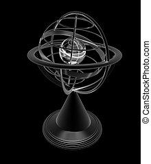 Terrestrial globe model