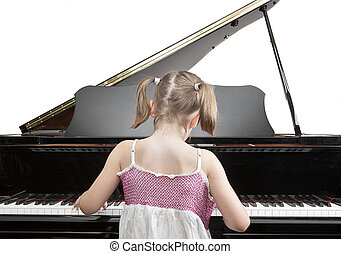 JMPPL0648 - Child Playing Piano