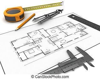 ferramentas, desenho