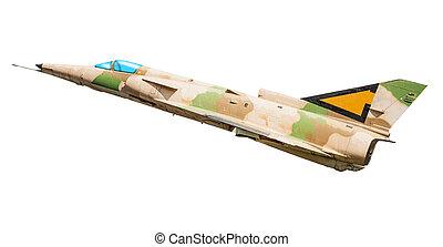 military combat airplane
