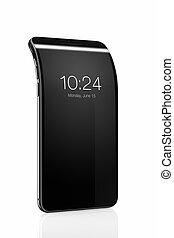 Bending smart phone