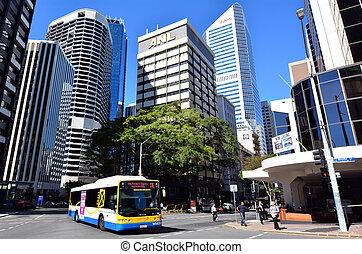 Brisbane Transport - Queensland Australia - BRISBANE, AUS -...