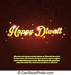 Happy Diwali - Vector illustration eps 10 of Happy Diwali