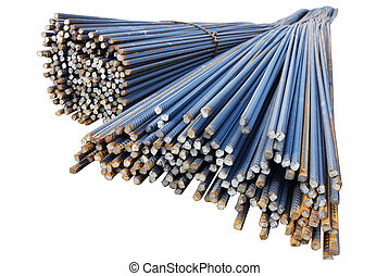 steel rod - The steel bars used in construction