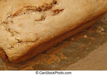 lavendar cake - close up image of home made lavendar cake