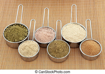 Protein Powders - Protein and health supplement food powders...