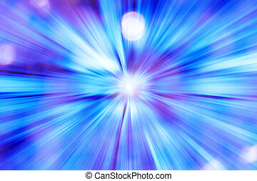 Futuristic blue light background - Beautiful futuristic blue...