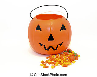 Halloween Pumpkin candy bucket