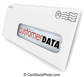 Customer Data Direct Mail Campaign Marketing Advertising...