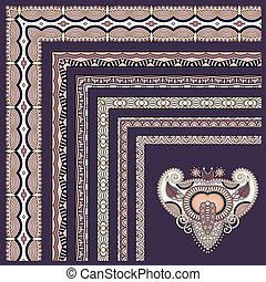 collection of ornamental floral vintage frame design All...