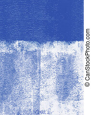 Rolled paint background - Blue rolled paint background