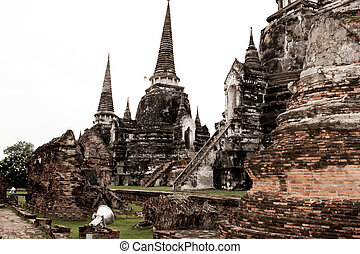Ayutthaya is old capital of Thailand