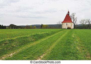 Church - Typical Rural European Church.