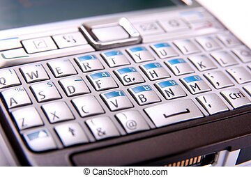 mobile phone keyboard qwerty