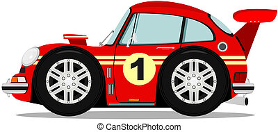 Car - Funny sports car
