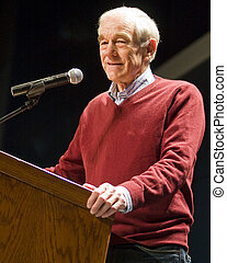 Ron Paul - Republican Presidential Candidate Ron Paul Speaks...