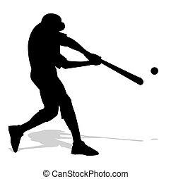 jugador, beisball