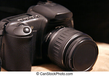 Black SLR Digital Camera