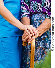 Old Peoples Diseases - Supporting the elderly with...