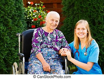 Confidential Relation - Happy patient and doctor at the...