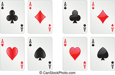 Glossy aces alpha version - Two sets of glossy aces alpha...