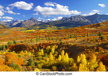 Dallas divide - Beautiful Dallas divide landscape in autumn...