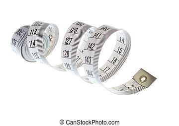 Spiral measuring tape
