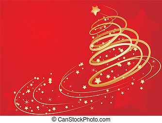 Xmas abstract background