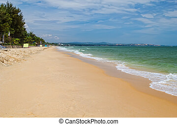 Mui ne beach in sunny day, Vietnam