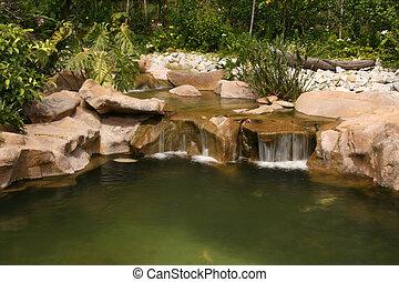 Waterfall - Botanical Gardens, Singapore