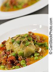 Garnish - Vegetables And Chorizo - Garnish - Garnish With...
