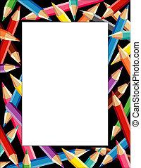 Pencils Frame