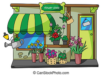 Flower shop Stock Illustrations. 3,397 Flower shop clip ...