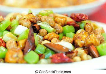 delicious chinese food - delicious chinese food:kungpao...