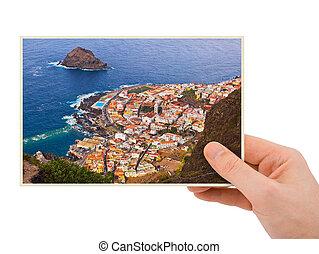 Tenerife, kanárek, fotografování,...
