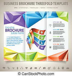 Brochure Design Template - Business Brochure Design with...